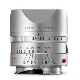 Leica Summarit-M 50mm f/2.4 Silver Anodized Finish