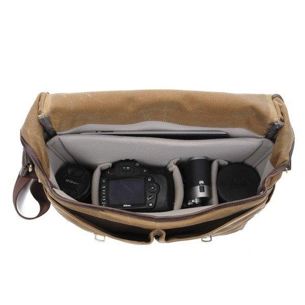 ONA Brixton Camera Messenger Bag – Smoke 4