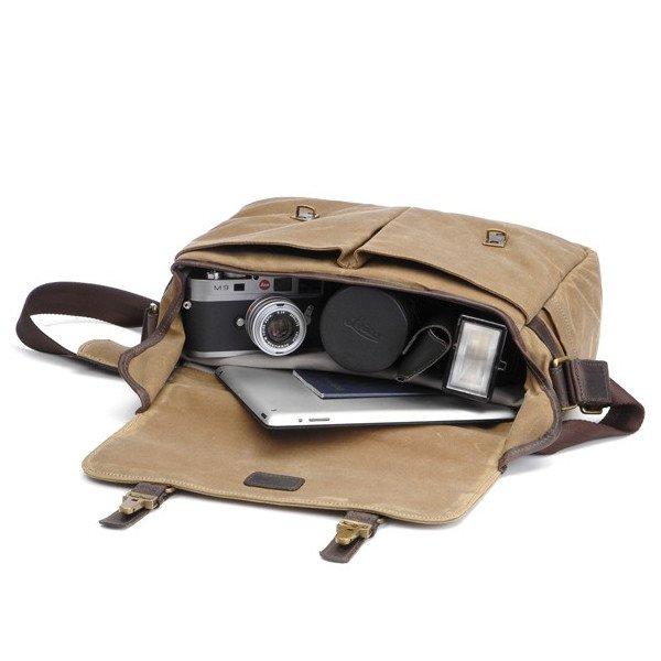 ONA Brixton Camera Messenger Bag – Smoke 5