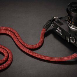 Snake Strap - Red/Black, 105cm