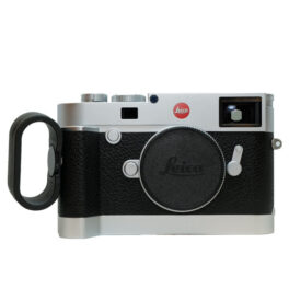 Used Leica M10 Silver Chrome Finish, Hand grip, Finger loop, Mint Condition