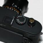 "Leica Soft Release Button 2020 ""Snow Flake"", Black 2"