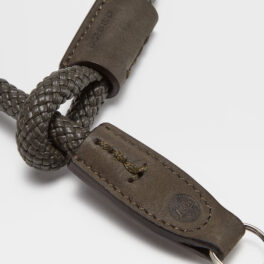 The LEICA | ZEGNA Wrist Strap, Loden