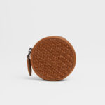 The LEICA | ZEGNA Round Wallet, Vicuna 4